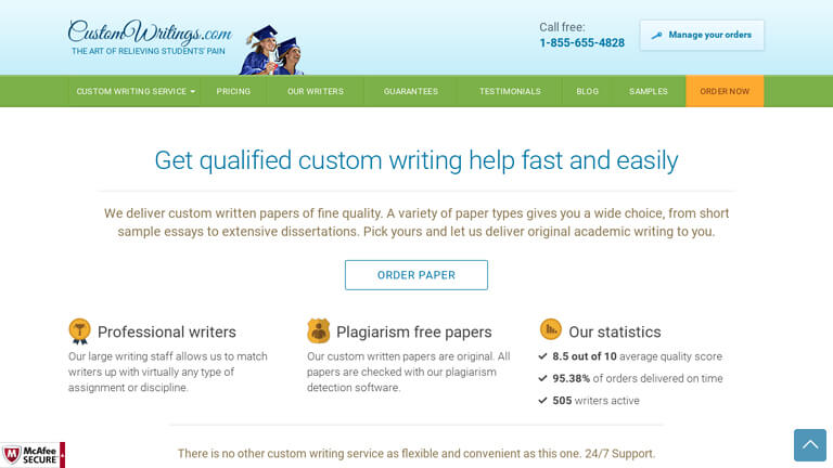customwritings com Our review website regularly updates its reviews based on essay-writing services ' performance, and custom writings frequently appear as one.